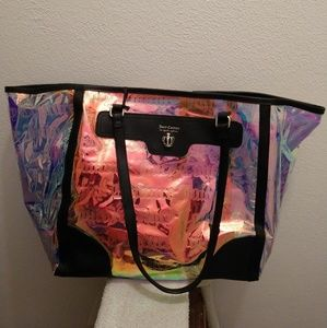 NWT Juicy Couture Iridescent Tote Purse
